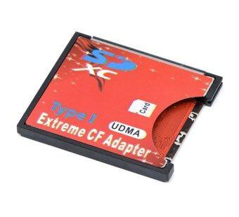 ตัวแปลง SD SDHC SDXC เป็น CF Adapter Reader type 1 WIFI