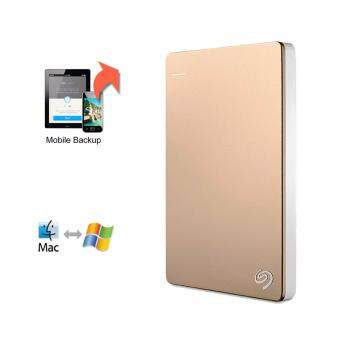 ขายด่วน Seagate Backup Plus 2.5 Portable Drive 1TB - Gold