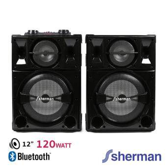Sherman ชุดลำโพงขยายกลางแจ้ง (Bluetooth) รุ่น SB-900 (สีดำ)