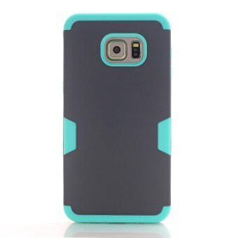 Shockproof Phone Cases for Samsung Galaxy S6 Edge Plus PC+TPU3-Layers Hybrid Full-Body Protect Case for S6 Edge Plus Anti-KnockPhone Shell (Multicolor) - intl