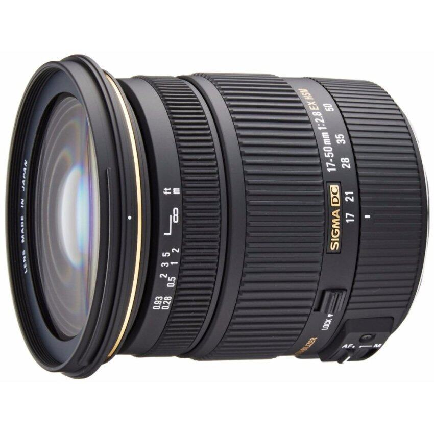 Sigma 17-50mm f/2.8 EX DC OS HSM FLD Large Aperture Standard Zoom Lens for Canon Digital DSLR Camera - intl