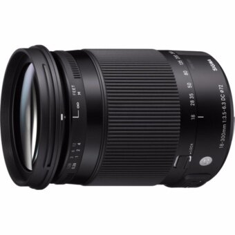 Sigma 18-300mm f/3.5-6.3 DC MACRO OS HSM Contemporary Lens - [For Canon EF] - intl