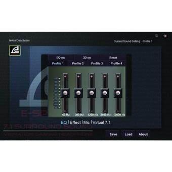 SIGNO E-Sport HP-815 MANTICORE 7.1 Surround Sound Vibration Gaming Headphone - 4
