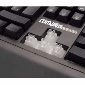 SIGNO E-Sport KB-730 คีย์บอร์ดสำหรับเกม CENTAURUS by ESPORTMART Semi-Mechanical Gaming Keyboard - 3
