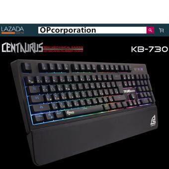 SIGNO E-Sport KB-730คีย์บอร์ดสำหรับเกม CENTAURUS by ESPORTMART Semi-Mechanical Gaming Keyboard