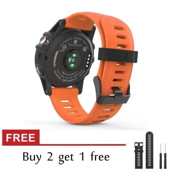 Silicone Replacement Band for Garmin Fenix 3/Fenix3 HR Fitness GPSSmartwatch Watch Strap With Tools - intl