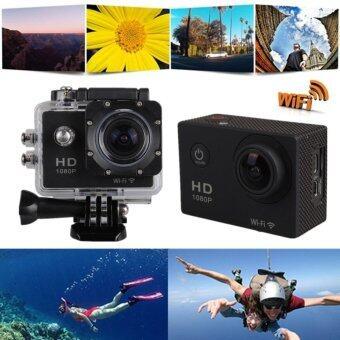 SJ4000 Wifi Mini Camera 1080P Full HD 12MP Sport Video Helmet Camera 30m Waterproof Car Video Camera Recorder Sports DV(Black) - intl