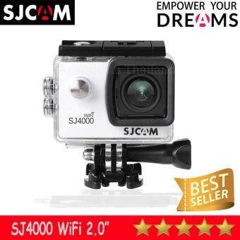 SJCAM SJ4000 Wi-Fi 12MP Model 2016เมนูภาษาไทย(White)