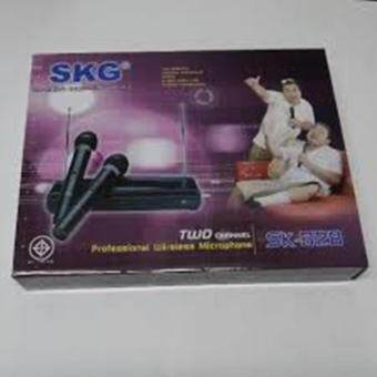 Harga SKG WIRELESS MICROPHONE SK-328