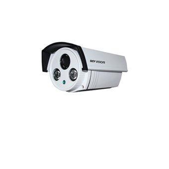 SkyVision กล้องวงจรปิด ย้อนแสง 4mm. รุ่น SVA-W739EK (White)