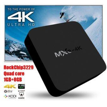Smart Android TV Box New 2017 Android 6.0.1 MXQ 4K Android BoxRockchip RK3229 Quad Core Mali-400 1GB/8GB Android Marshmallow6.0.1 ( Black ) ฟรี I8 Mini Thai Keyboard + wireless Mouse - 3
