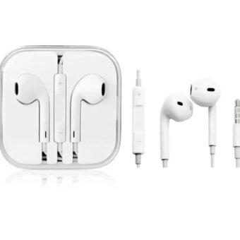 Smart Earphone หูฟัง สำหรับ iPhone / iPad / iPod (สีขาว)