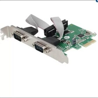 SMART PC 2-Port PCI-E Serial PCI Express Controller Card