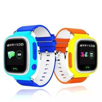 Smart Watch Baby Watch Q90 with GPS Wifi Touch Screen SOS Call Location Device Tracker for Kid Safe Anti-Lost Monitor PK Q50 Q60 - intl