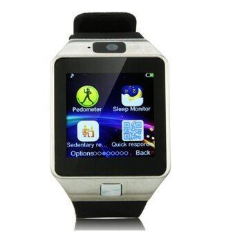 Smart Watch รุ่น DZ09 นาฬิกาโทรศัพท์มีกล้อง (สีดำ)