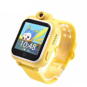 Harga Smart watch Kids Wristwatch Q730 3G GPRS GPS Locator TrackerSmartwatch Baby Watch With Camera For IOS Android