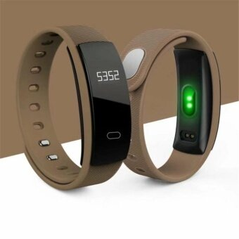 สายข้อมืออัจฉริยะ SmartBand Heart Rate Monitor Blood Pressure Monitor Smart Wristband Fitness Tracker Smart Bracelet for IOS Android - intl