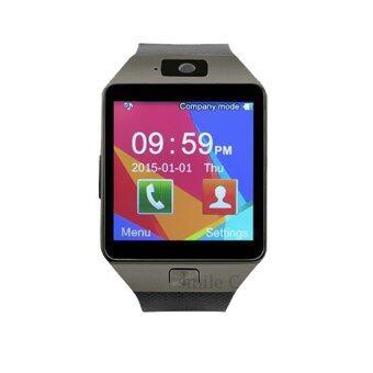 smile C นาฬิกาโทรศัพท์ Smart Watch รุ่น A9 Phone Watch (Black)