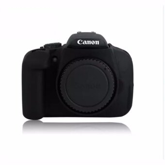 Soft Silicone Gel Rubber Camera Case Cover for Canon650D/700D(Black) - intl