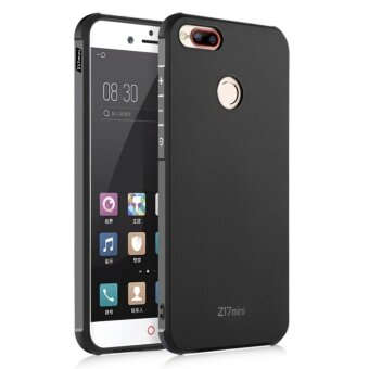 Soft Silicone Protection Back Cover For ZTE Nubia Z17 Mini (Black)- intl