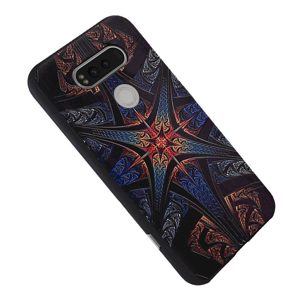 Soft TPU Case For LG V20 Totem 3D Embossed Painting Series Protective Cover .