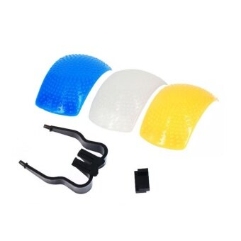 Harga Softbox Pop-up Flash Diffuser 3 สี