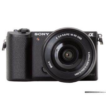 Sony Alpha a5100 Mirrorless Digital Camera with 16-50mm Lens – Black