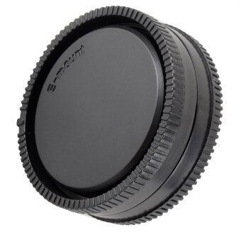ฝาปิดท้ายเลนส์ + ฝาปิดบอดี้กล้อง Sony E-mount (image 0)