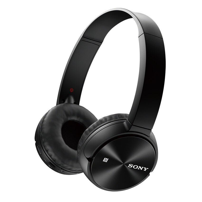 Sony หูฟังบลูทูธ รุ่น MDR-ZX330BT (สีดำ)
