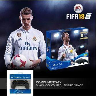 Sony PlayStation®4 FIFA 18 Bundle Pack Model No: PLAS-10044HC/HDD 500GB/Free: + DUALSHOCK4 w/less controller x 2 set ประกันศูนย์Sony Thai