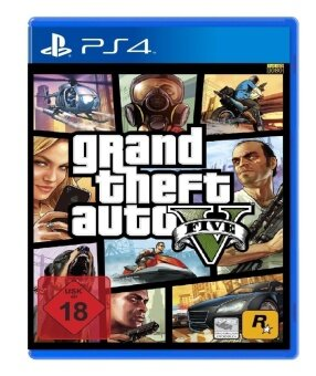 Harga Sony PS4 GTA 5 Zone 3