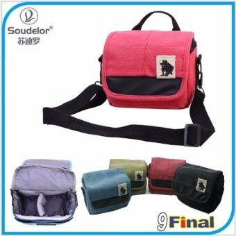 Harga Soudelor Camera Bag ������������������������������������ DSLR /MirrorLess ������������������������ ���������Canvas ������������ 1682S - ������������������ (Pink Color) (Pink)