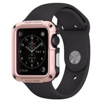 SPIGEN Apple Watch Series 1 & 2 (42mm) Tough Armor : Rose Gold