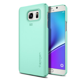 SPIGEN เคส Galaxy Note 5 Case Thin Fit (Mint)