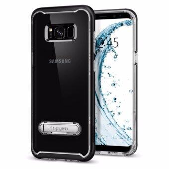 SPIGEN เคส Samsung Galaxy S8 Plus Case Crystal Hybrid : Black