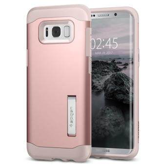 SPIGEN เคส Sumsung Galaxy S8 Plus Case Slim Armor : Rose Gold