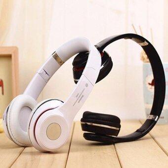 Stereo Wireless Bluetooth Headphone หูฟังบลูทูธ หูฟังไร้สาย หูฟังไอโฟน รุ่น S460 (black) - 3