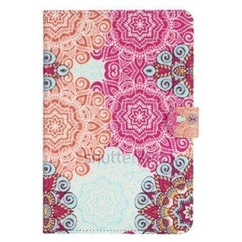 ขายด่วน Stylish Leather Case Cover For Samsung Galaxy Tab A 8.0inch SM-T350T351 Multicolor - intl