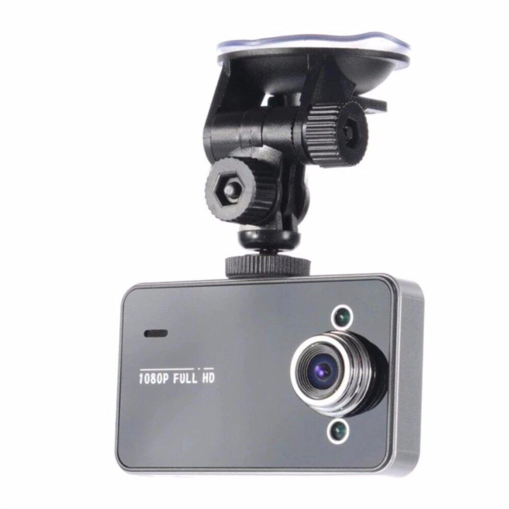 กล้องติดรถยนต์ SUPER CAR CAMERA FULL HD MENU THAI รุ่น K6000 (สีดำ)