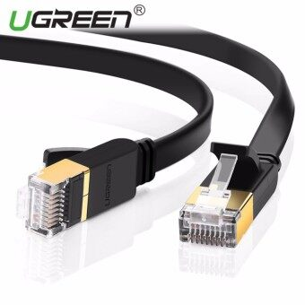 Super High Speed RJ45 STP CAT 7 Flat Gigabit Ethernet Network Cable (8m) - intl