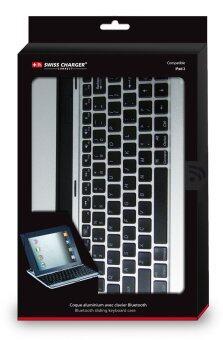 Swiss Charger iPad Bluetooth Keyboard for Apple iPad 2 - 3