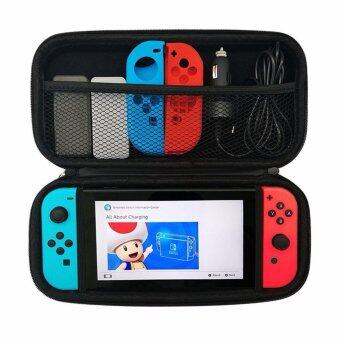 Switch Case, Acecharming Waterproof Hard Switch Case Protective Storage Bag With 5 Game Holder for Nintendo Switch ,Black - intl