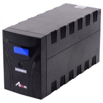 เปรียบเทียบราคา Syndome UPS ATOM-1000 (1000VA/600Watt) - Black