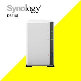 Synology รุ่น DS218j NAS อุปกรณ์จัดเก็บข้อมูล ขนาด 2-BAY
