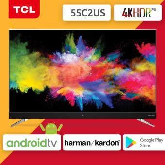 TCL 4K HDR Android TV รุ่น 55C2US ขนาด 55 นิ้ว รุ่นปี 2017