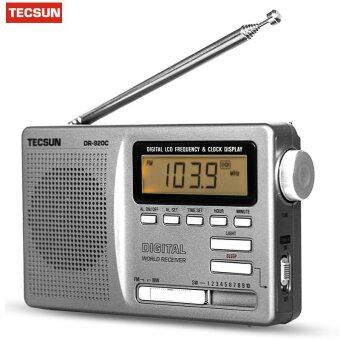 TECSUN DR-920C DIGITAL DISPLAY FM AM MW SW Stereo Multi 12 BANDRADIO receiver - intl