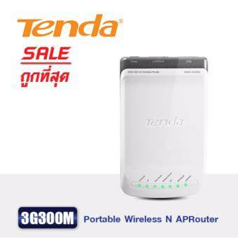 Tenda 3G300M 300Mbps Portable Wireless N 3G Router - White