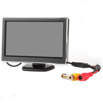 TFT-LCD Digital Car Rear View Monitor LCD Display 5 Inch for VCD /DVD / GPS / Camera