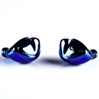 TFZ EXCLUSIVE 5 หูฟังไดรเวอร์ Graphene 2ชั้น รองรับไฟล์ Hi-resถอดสายได้ รุ่น 001 (สีน้ำเงิน)