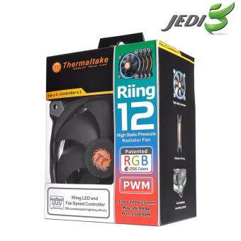 Thermaltake Riing 12 RGB High Static Pressure LED Radiator Fan (Three fans pack)